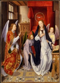 'The Annunciation' by Hans Memling