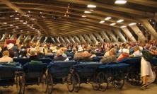 Pilgrims in Lourdes