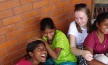 Volunteer Evie in Karnakata
