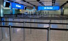 Photograph of UK border