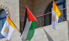 Vatican & Palestine flags