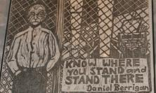 Drawing of Daniel Berrigan Sj
