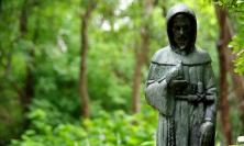 Photograph of statue of Francis of Assisi