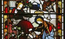 Mary anoints Jesus's feet