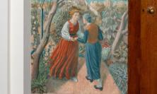'The Visitation' by Charles Mahoney, Lady Chapel, Campion Hall