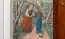 'The Visitation' by Charles Mahoney, Lady Chapel, Campion Hall