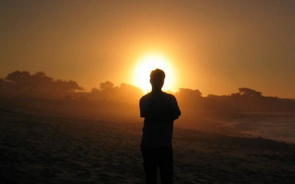 spiritual sunset