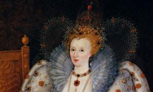 From 'Portrait of Queen Elisabeth I' by Marcus Gheeraerts the Younger