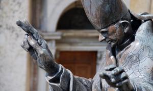 Statue of Pope Paul VI