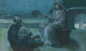 Nicodemus Coming to Christ
