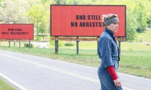 Still from Three Billboards