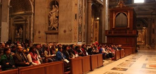 Eucharistic celebration during the WMPM